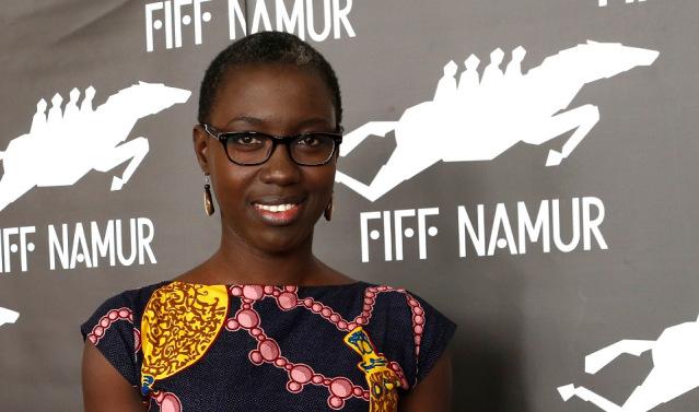 Angele Diabang at the French International Film Festival in Namur, Belgium