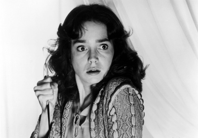 Suzy Banyon (Jessica Harper) prepares to face off against the weird and terrifying.