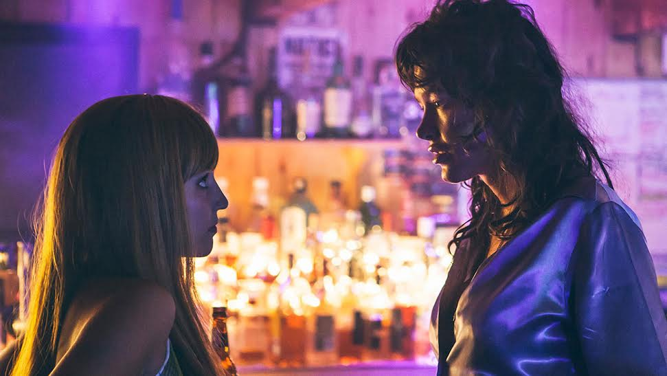Dianna Agron and Paz de la Huerta in Bare