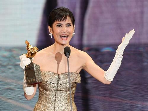 The actress winning her first Golden Horse Award