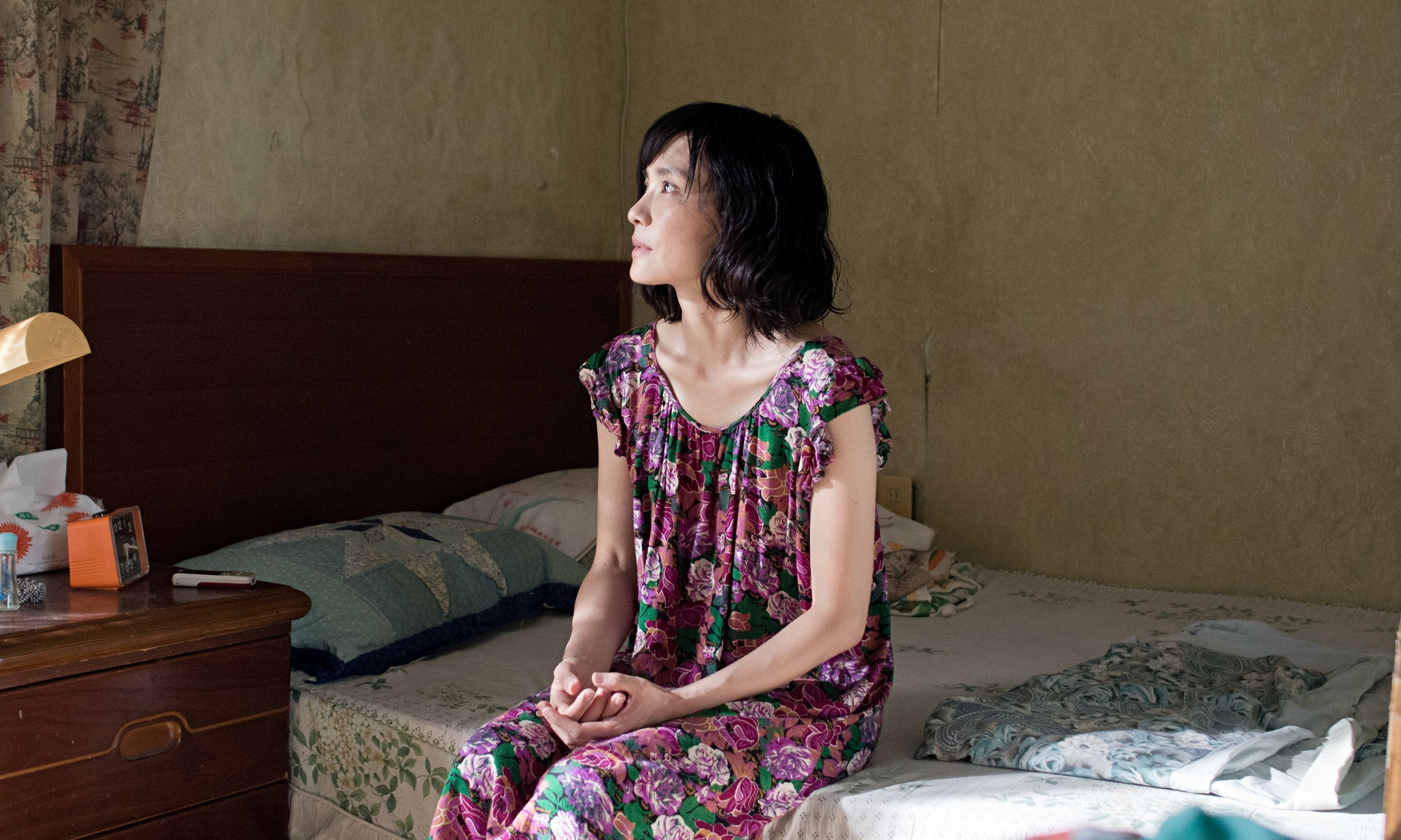A dejected Chen Shiang-chyi stars in Exit